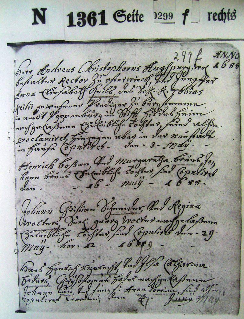 kopfsteuerbeschreibung calenberg 1664